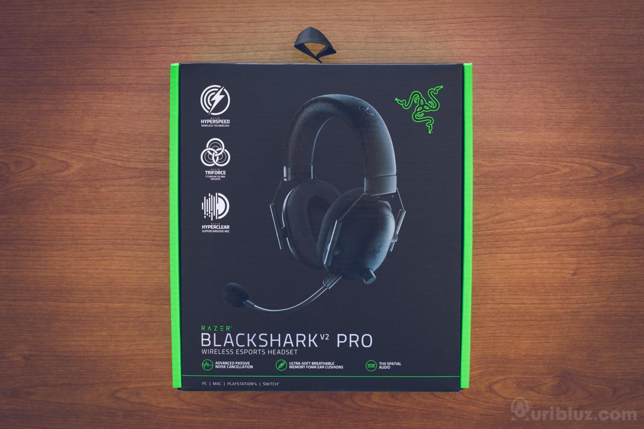 Frontal caja Razer Blackshark V2 PRO