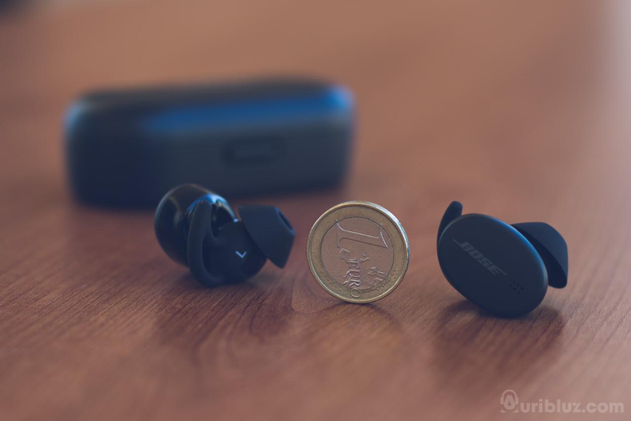 Tamaño Bose Sport Earbuds